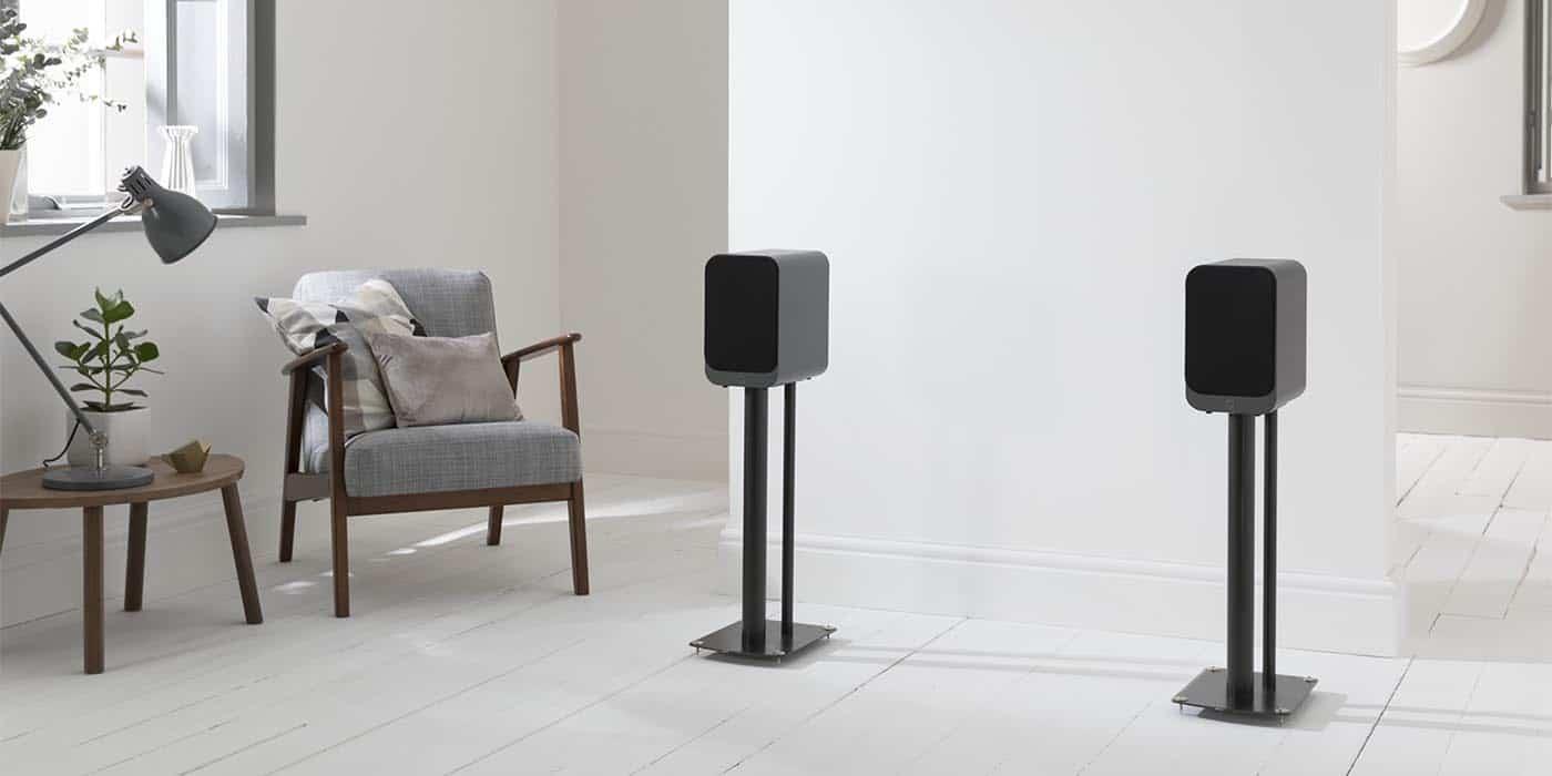Q Acoustics 3020i Bookshelf Speakers Pair Carbon Black